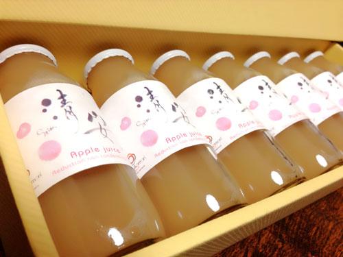 LoveAomori青森完熟りんご100%ジュース「清安」